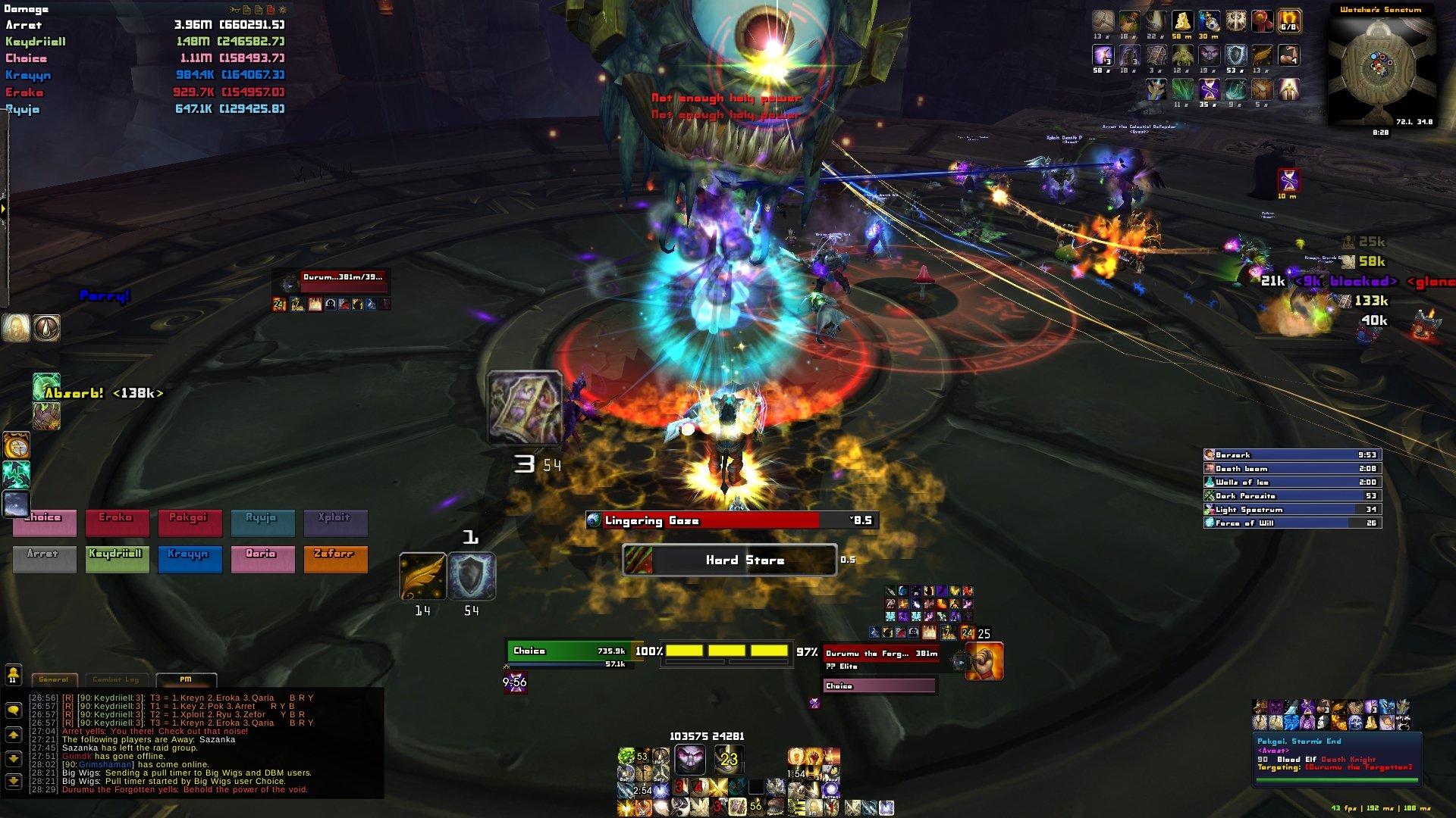 ChoiceUI - Protection Paladin UI : Tank Compilations : World of Warcraft AddOns