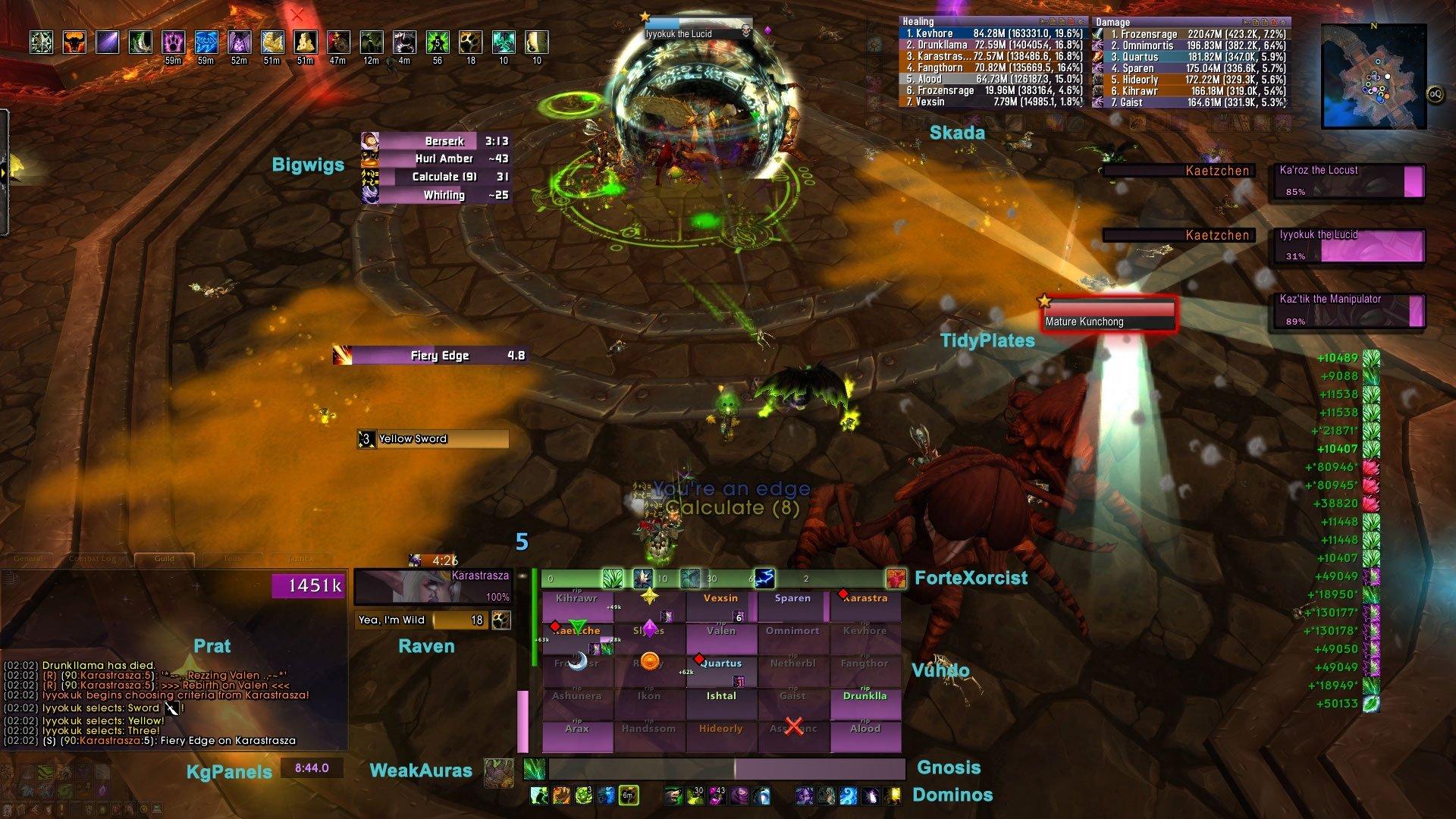 Karastrasza's UI : Healer Compilations : World of Warcraft AddOns