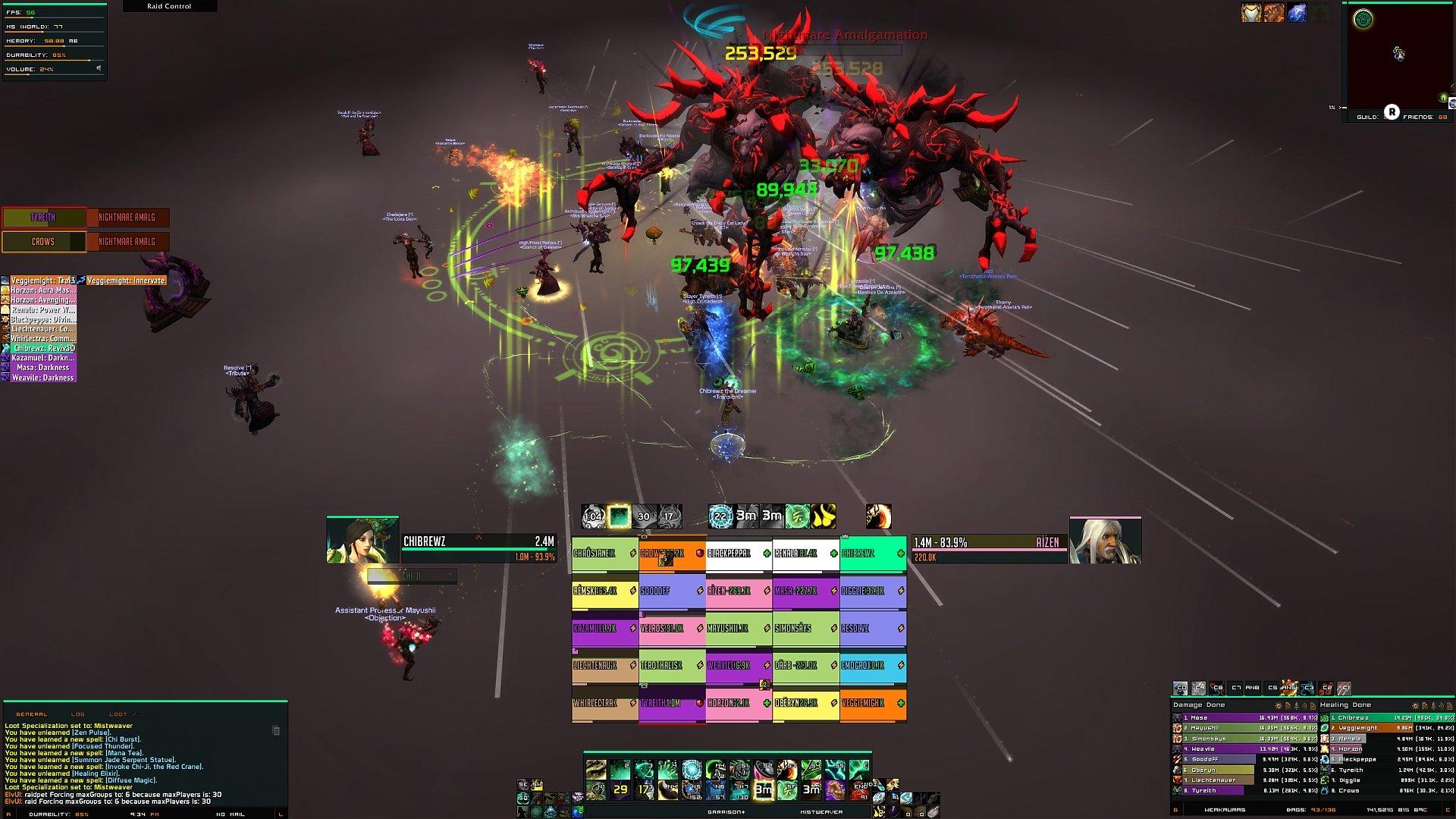 Brewz UI : Healer Compilations : World of Warcraft AddOns
