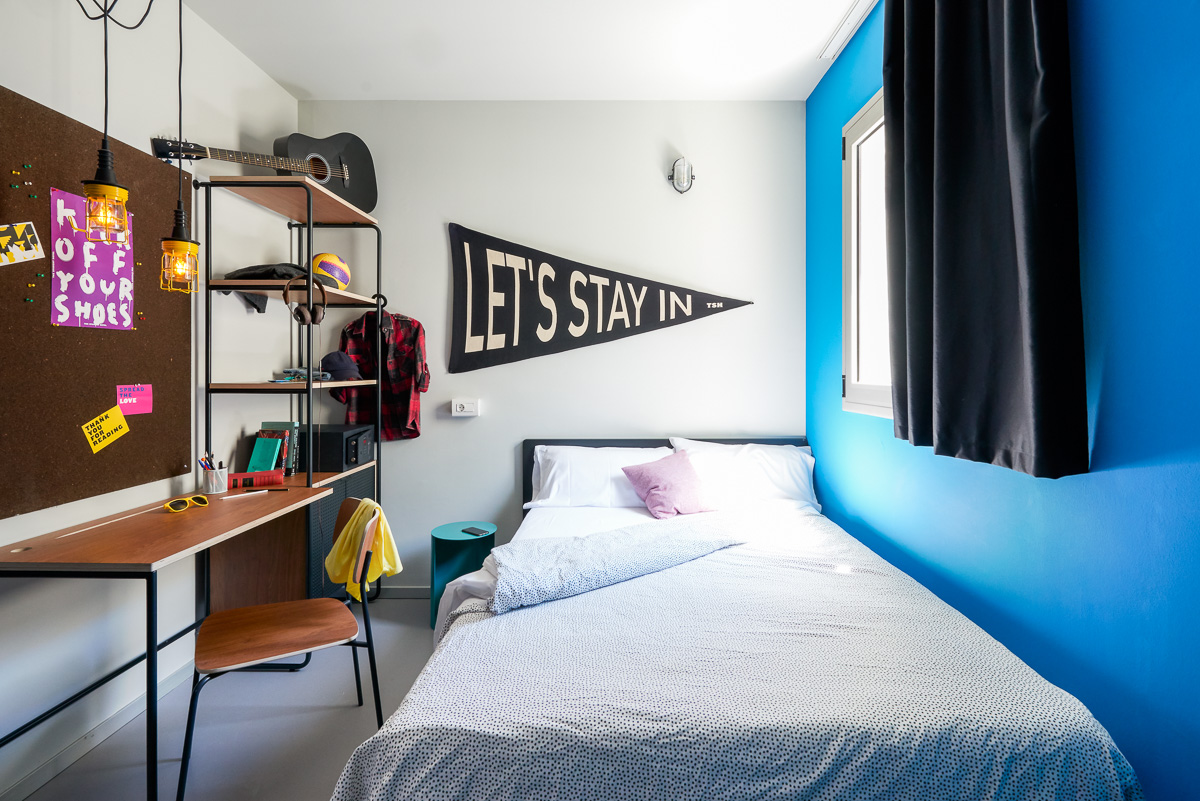 Your studentonly residence in Barcelona is TSH Campus Marina