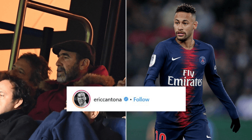 """""""a flock of bikes #aiweiwei"""" Eric Cantona Posts A Hilarious Message About Neymar On Instagram The Sportsrush"""