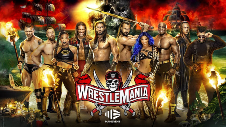 WWE Wrestlemania 2021: Date, Time, Match Card, Live Stream & Broadcast  Channel   The SportsRush