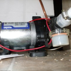 Rv Water Pump Wiring Diagram Fill In The Blank Atom How To Replace A 12v An Usa Today