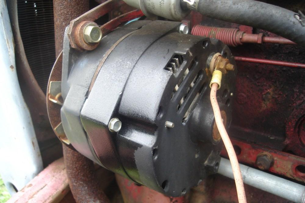 medium resolution of 2wire alternator wiring diagram ih tractor