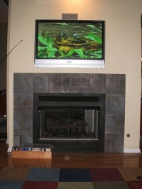 How to Mount an LCD TV Above a Fireplace | eHow UK