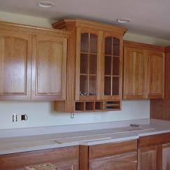 Decorative Molding Kitchen Cabinets Bronze Appliances How To Cut Crown For Ehow Uk