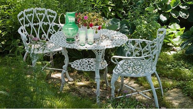 mobilier jardin fer forge mobilier