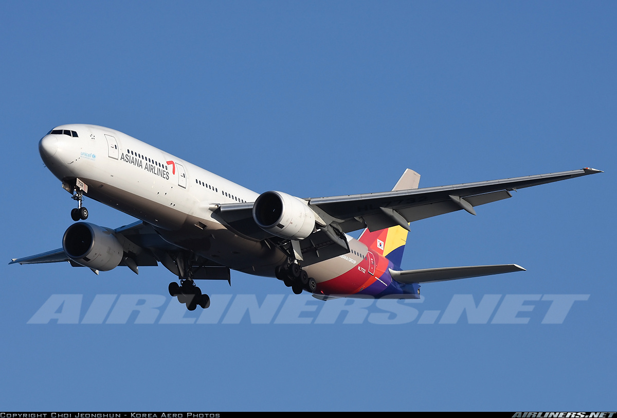 Boeing 777-28E/ER aircraft picture