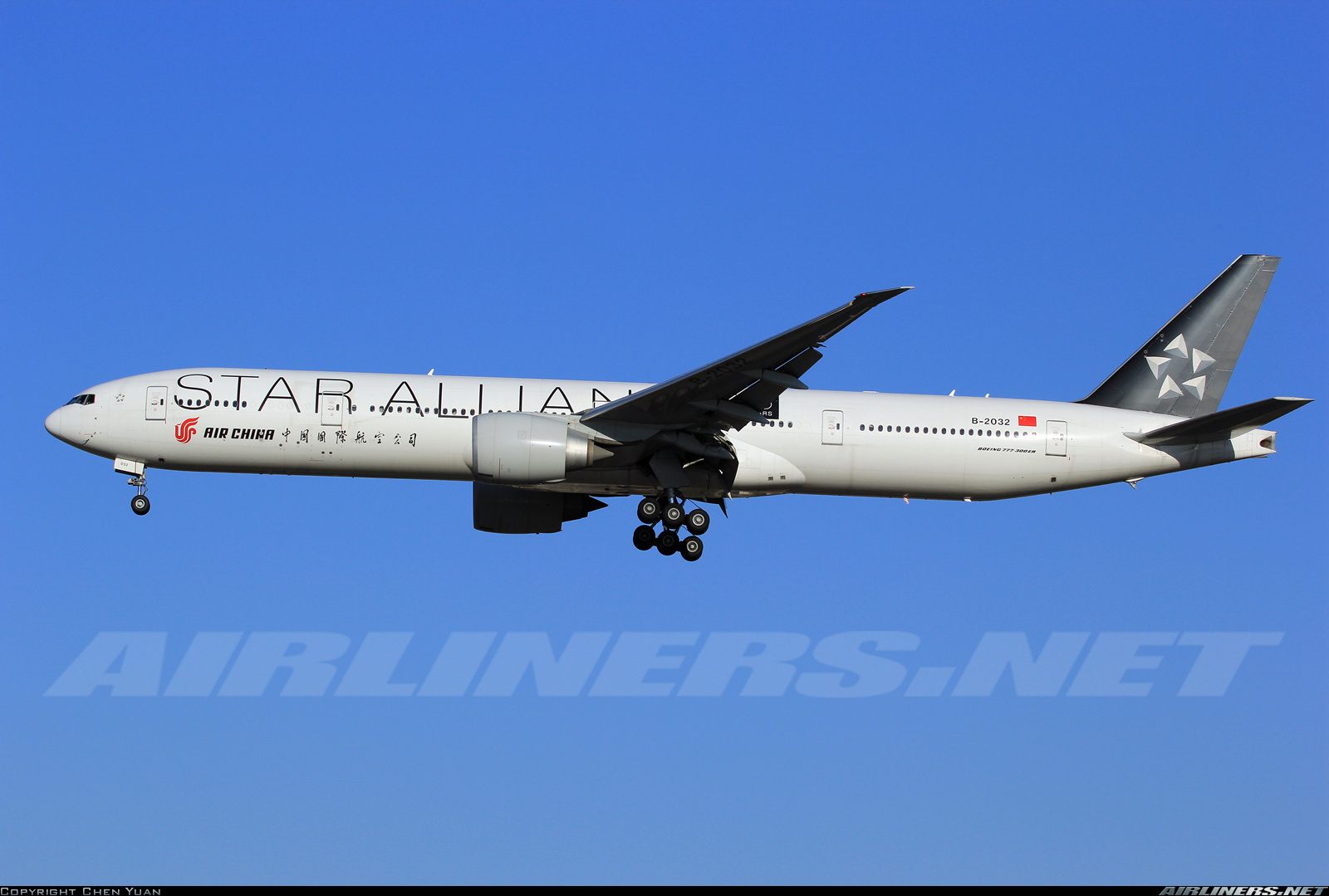 Boeing 777-39L/ER aircraft picture