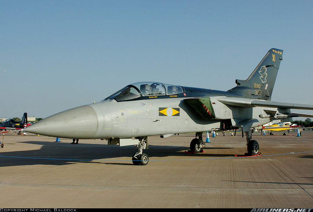 Picture of the Panavia Tornado F3