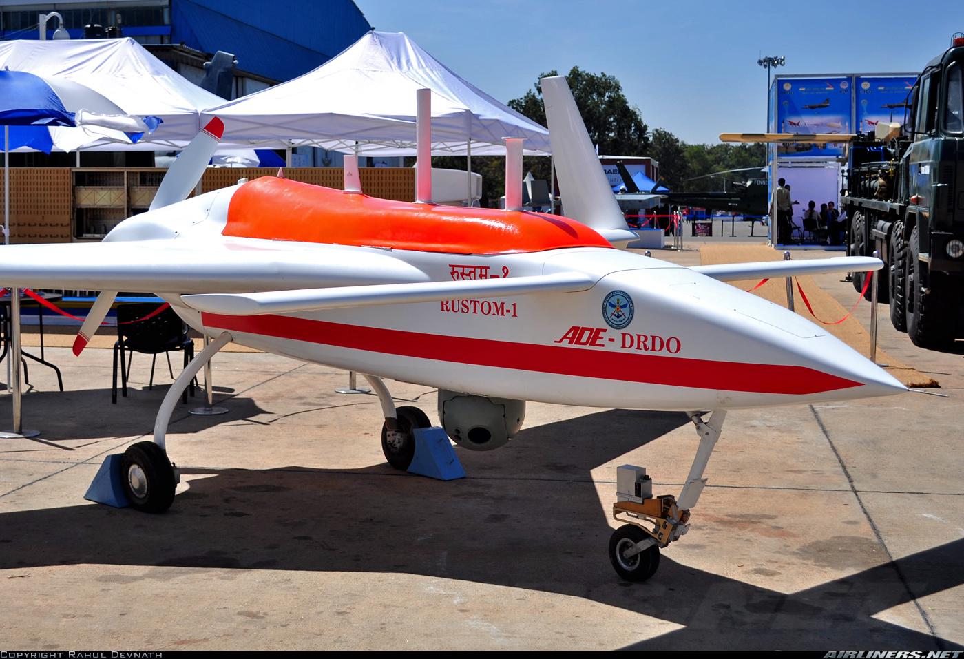 Image result for DRDO Rustom 1