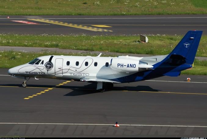 tiesto private jet