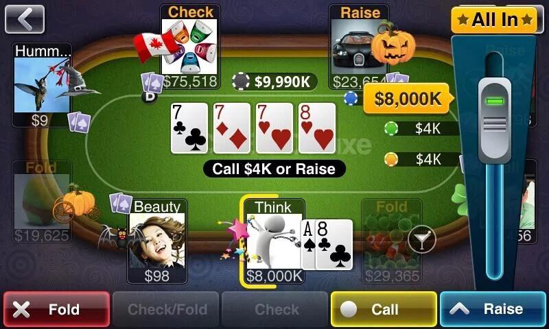 Texas Zynga Holdem Poker Free