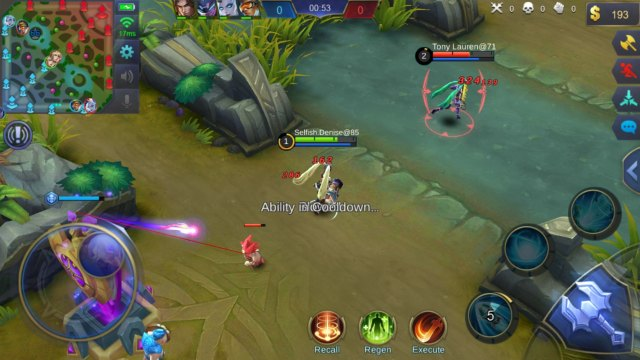 Image result for mobile legends new user interface