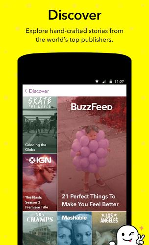 Run Snapchat app on PC 6