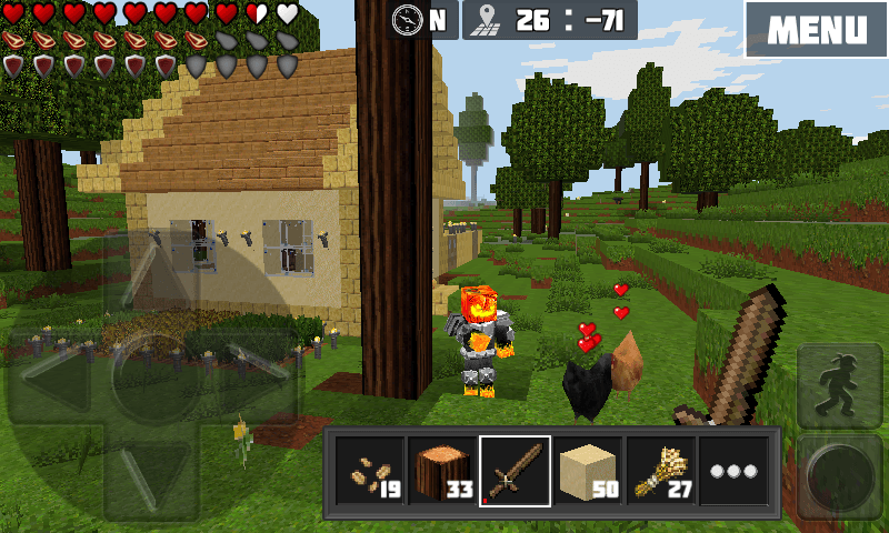 Play WorldCraft on PC and Mac with BlueStacks Android Emulator