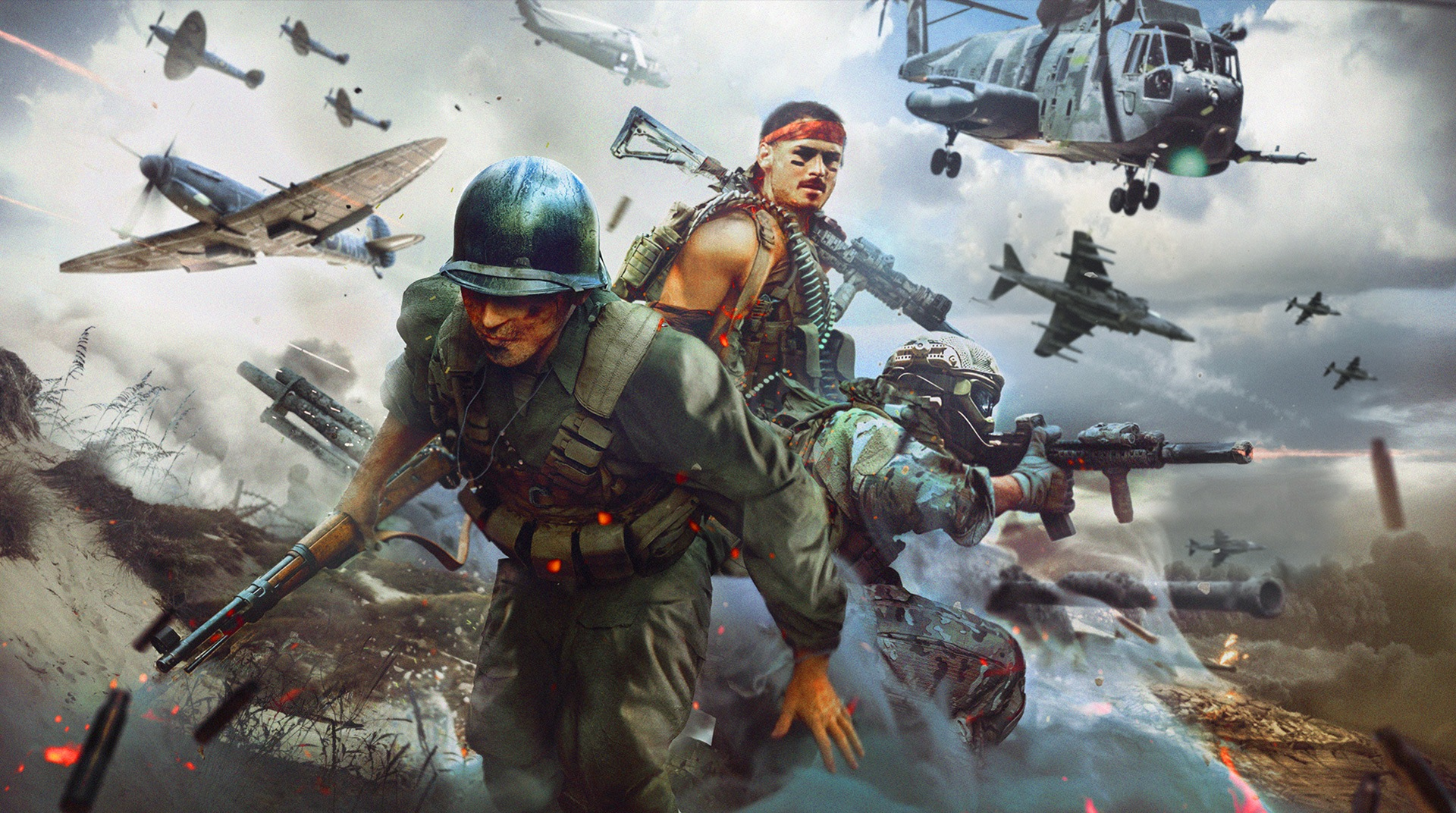 Download World War Rising On Pc With Bluestacks