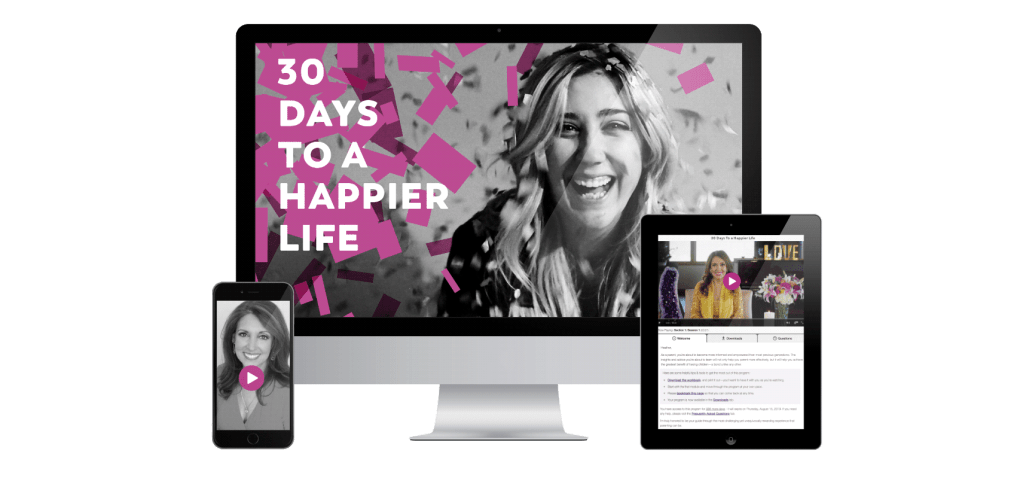 Marci Shimoff – 30 Days to a Happier Life Video Program