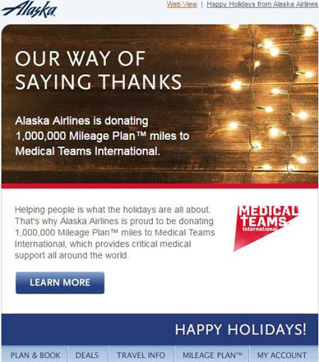 alaskan say thank you