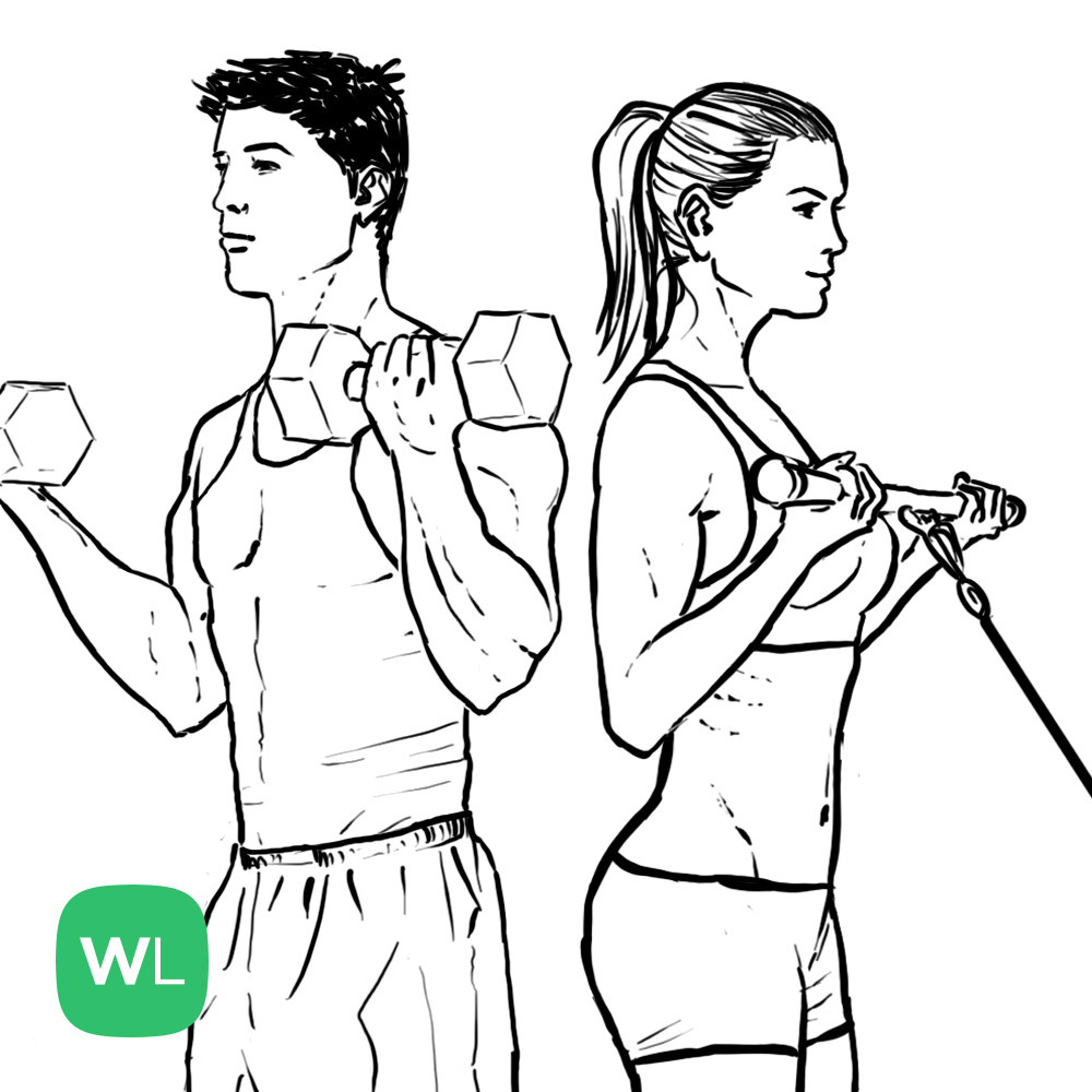 Illustrated Exercise Guide: Find New Exercises to Try