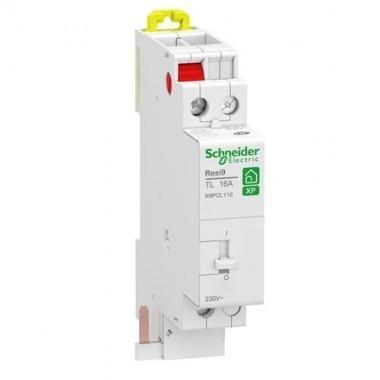 Telerupteur Schneider 16a 1no Monophase Resi9 Xp R9pcl116 123elec Com