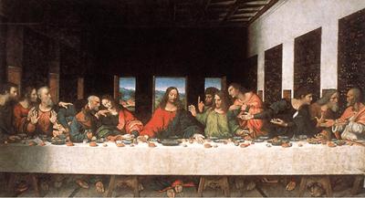 Riproduzione Lultima Cena  Cenacolo di Leonardo Da Vinci