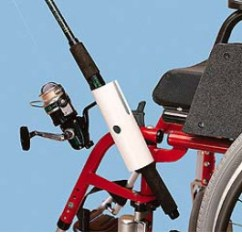 Folding Chair Fishing Pole Holder White Dining Table And 6 Chairs Uk Wheelchair | 1800wheelchair.com