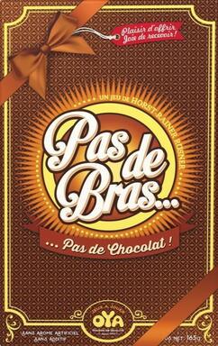 Pas De Bras Pas De Chocolat : chocolat, Bras..., Chocolat, (2016), Games, 1jour-1jeu.com