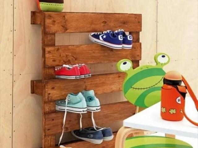Image result for wooden pallet shelves kids