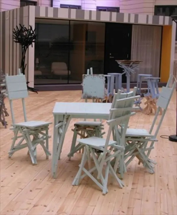 kids adirondack chair and table set with umbrella retro aluminum chairs unique style of pallet furniture – 101 pallets