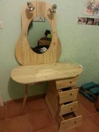 DIY Pallet Dressing Table  101 Pallets