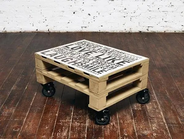 diy pallet mini pallet coffee table