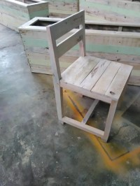 DIY Pallet Wood Chair  101 Pallets