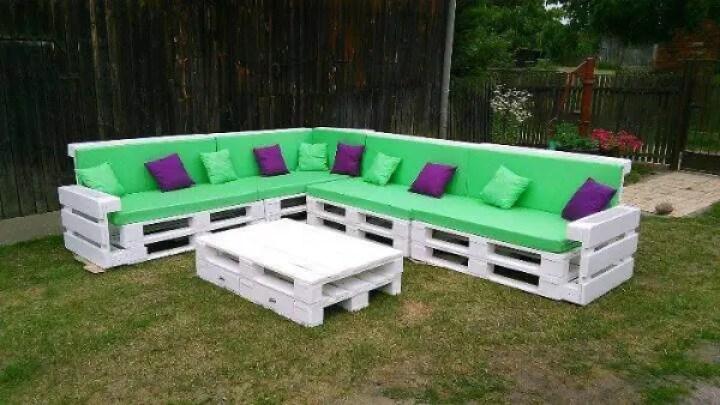 How To Build Pallet Corner Sofa Conceptstructuresllc Com