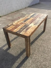 DIY: How to Build a Pallet Table  101 Pallets
