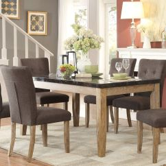 Gray Living Room Sets Mid Century Modern Lighting Homelegance Huron Dining Set Collection 6 Reviews Setmedia Image