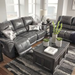 Recliner Living Room Set Futon For Signature Design By Ashley Persiphone Charcoal Reclining