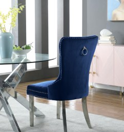 carmen navy velvet dining chair set of 2 743navy c media gallery 2 [ 4128 x 5264 Pixel ]
