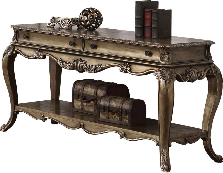Ragenardus Vintage Oak Sofa Table 1stopbedrooms