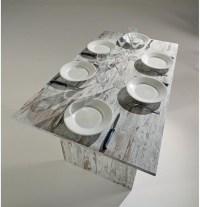Ritz Vintage White Wash Extendable Console Table ...