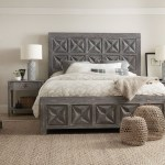 Beaumont Dark Wood Panel Bedroom Set 1stopbedrooms