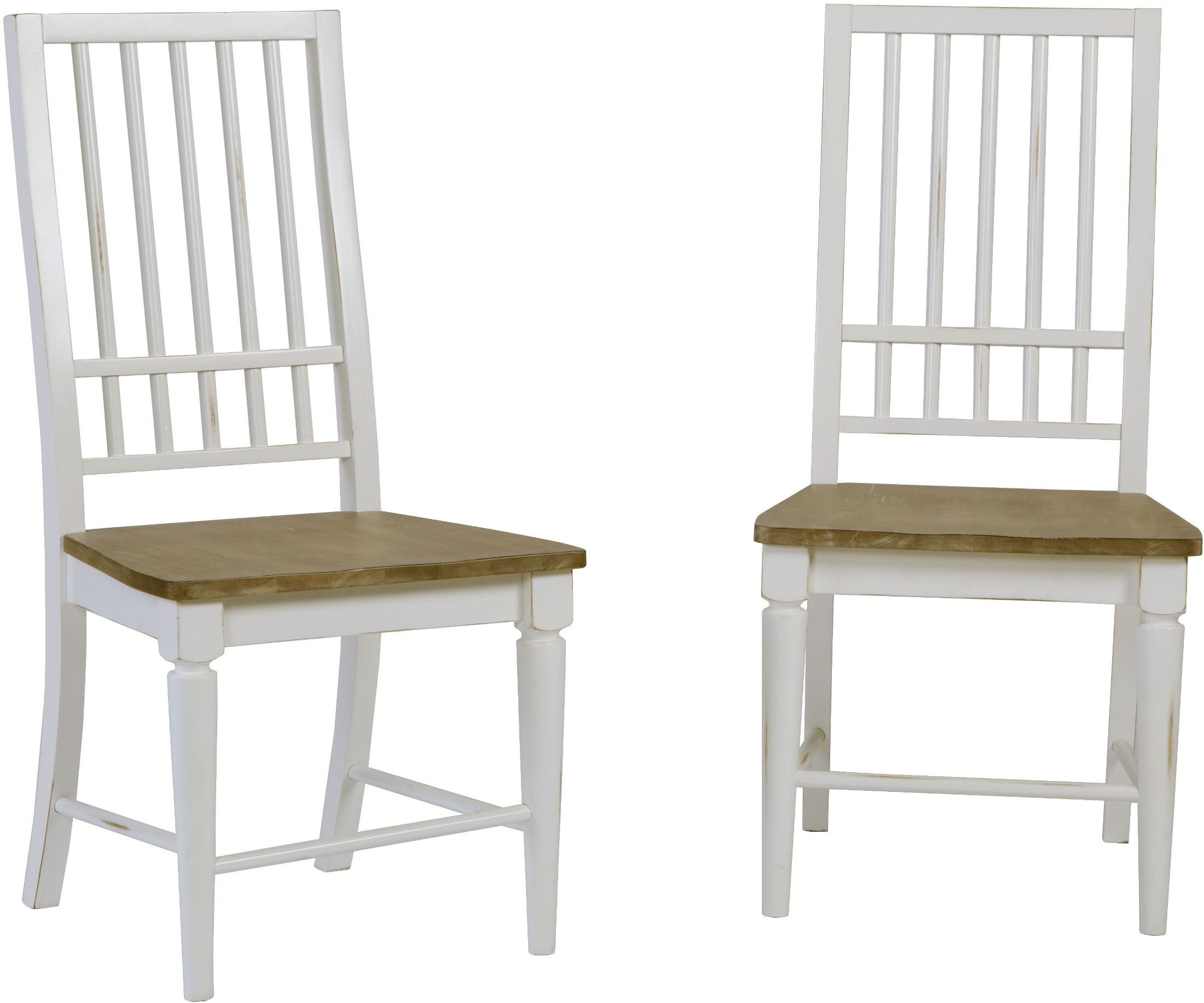 Distressed White Dining Chairs Progressive Furniture Shutters Light Oak And Distressed