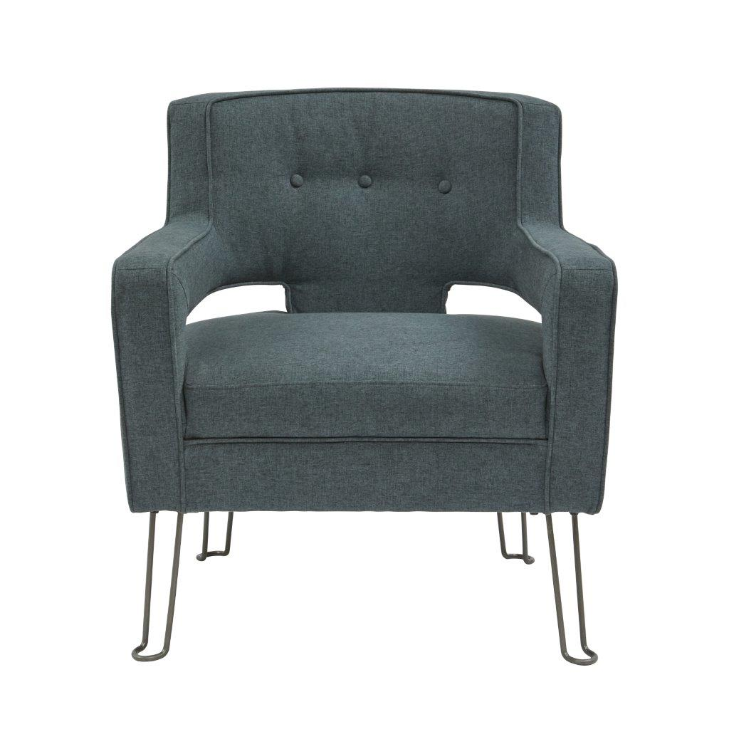 Hairpin Leg Chair Pulaski Modern Hairpin Leg Accent Chair Urban Eclectic