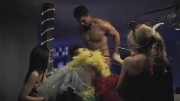 Vdeo Stripper con un pequeo secreto sin censurar