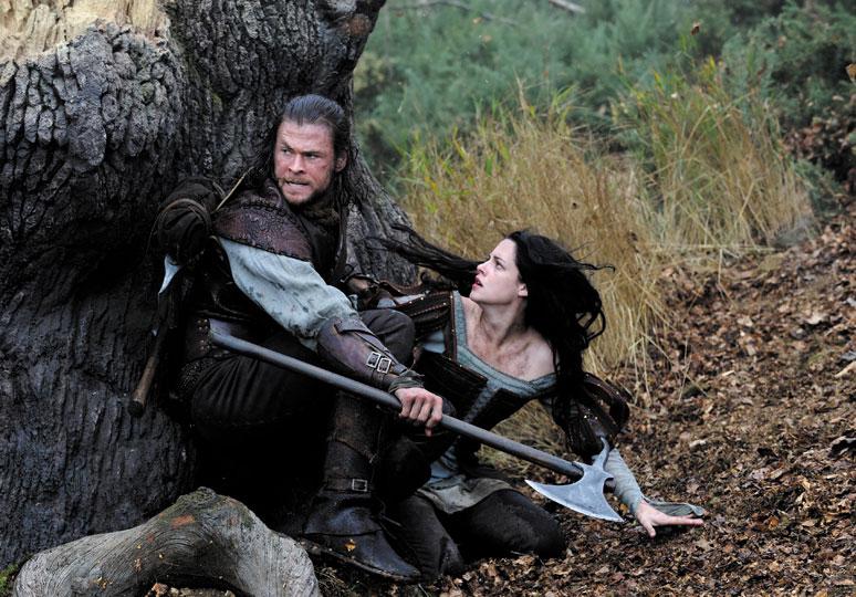 Resultado de imagen de blancanieves y la leyenda del cazador