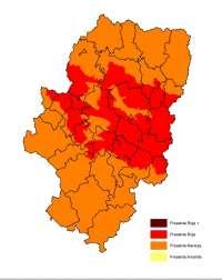 Prealerta roja por riesgos de incendios forestales en Aragón