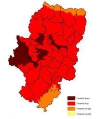 Prealerta roja + por incendios forestales en la Comunidad