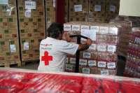 Cruz Roja inicia la entrega de más de 237.000 kilos de alimentos