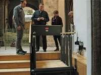El Mausoleo de los Amantes de Teruel, más accesible para personas discapacitadas