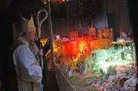 El gran belén de la Iglesia de San Pedro incorpora monumentos emblemáticos de Teruel